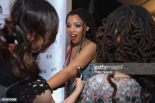 Recording artist Chloe Bailey attends GRAMMY Gift Lounge during the 59th GRAMMY Awards at STAPLES Center on February 10, 2017 in Los Angeles,...