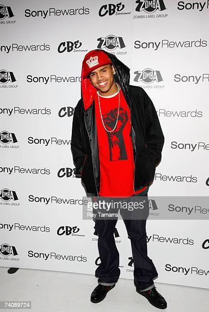 Recording artist Chris Brown arrives at his Birthday Bash at Avalon May 06 2007 in New York City
