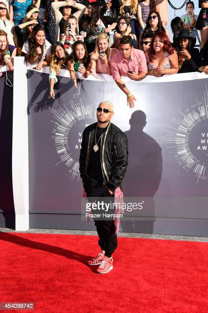 Recording artist Chris Brown attends the 2014 MTV Video Music Awards at The Forum on August 24, 2014 in Inglewood, California.
