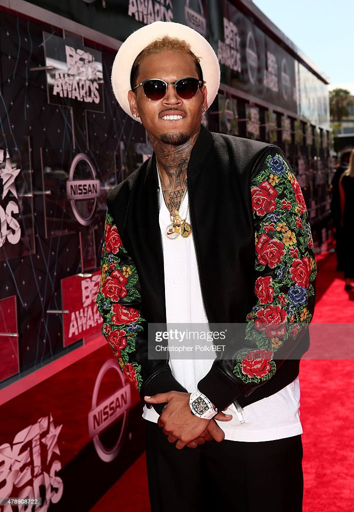 Recording artist Chris Brown attends the 2015 BET Awards at the Microsoft Theater on June 28, 2015 in Los Angeles, California.