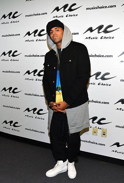 Chris Brown Visits Music Choice's