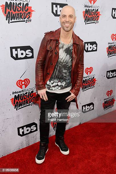 Recording artist Chris Daughtry attends the iHeartRadio Music Awards at The Forum on April 3 2016 in Inglewood California