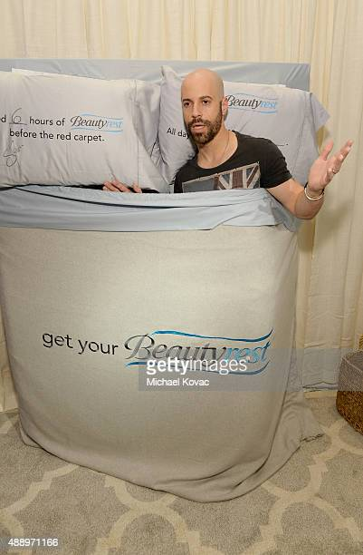 Recording artist Chris Daughtry got his beauty rest with Beautyrest Mattresses at EXTRA's 'WEEKEND OF | LOUNGE' produced by On 3 Productions at The...