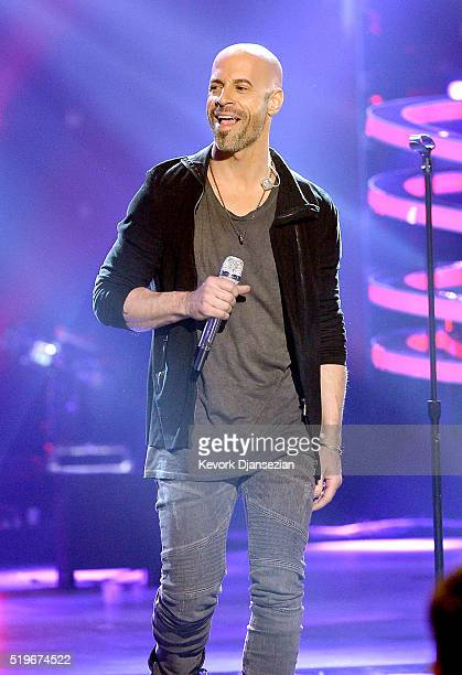 Recording artist Chris Daughtry performs onstage during FOX's 'American Idol' Finale For The Farewell Season at Dolby Theatre on April 7 2016 in...