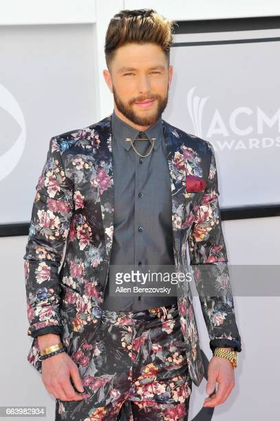 Recording artist Chris Lane arrives at the 52nd Academy Of Country Music Awards on April 2 2017 in Las Vegas Nevada