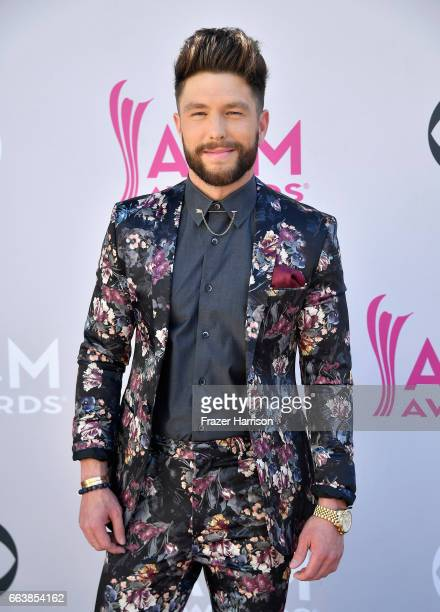 Recording artist Chris Lane attends the 52nd Academy Of Country Music Awards at Toshiba Plaza on April 2 2017 in Las Vegas Nevada