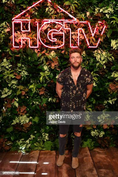 Recording artist Chris Lane attends the HGTV Lodge at CMA Music Fest on June 7 2018 in Nashville Tennessee