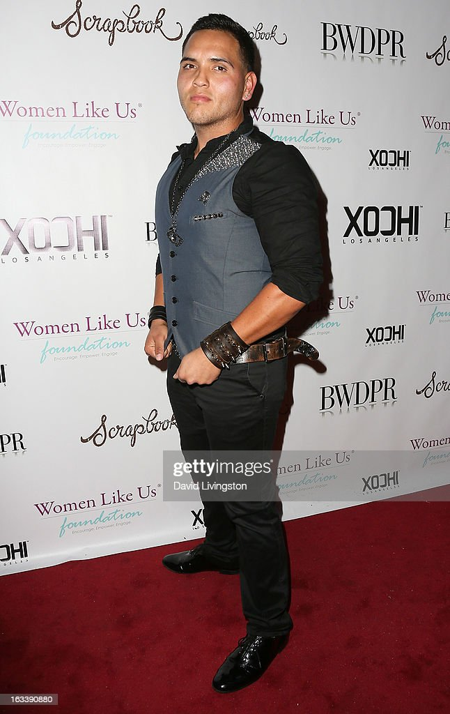 Recording artist Chris RockStar attends a Pre-LAFW benefit in support of the Women Like Us Foundation at Lexington Social House on March 8, 2013 in Hollywood, California.