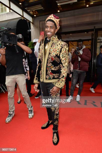 Recording artist Christian Combs attends as The Mark Hotel celebrates the 2018 Met Gala at The Mark Hotel on May 7 2018 in New York City