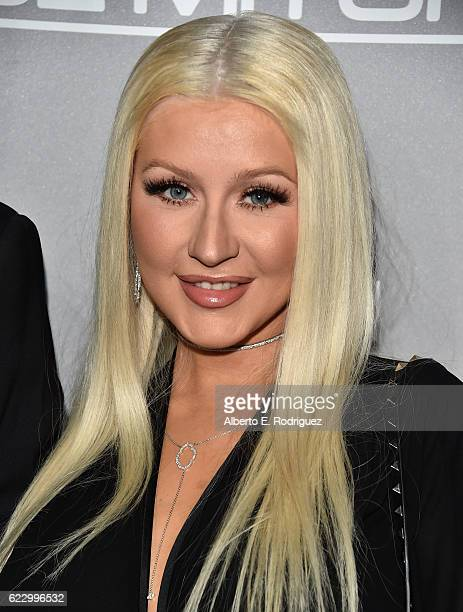 Recording artist Christina Aguilera attends the 5th Annual Baby2Baby Gala at 3LABS on November 12 2016 in Culver City California