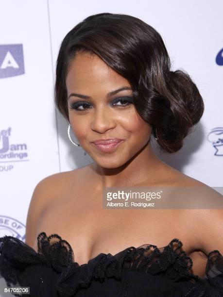 Recording artist Chritina Milian arrives at House of Hype and Antonio LA Reid's post Grammy Party on February 8 2009 in Beverly Hills California