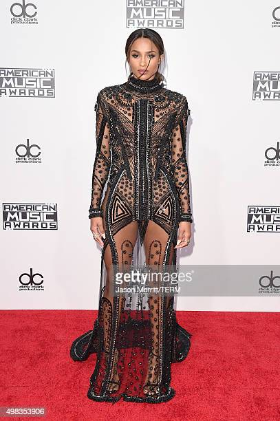 Recording artist Ciara attends the 2015 American Music Awards at Microsoft Theater on November 22 2015 in Los Angeles California