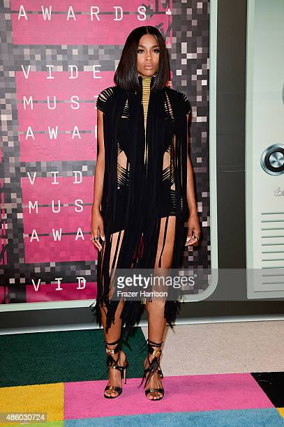 Recording artist Ciara attends the 2015 MTV Video Music Awards at Microsoft Theater on August 30 2015 in Los Angeles California