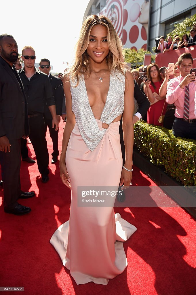 Recording artist Ciara attends the 2016 ESPYS at Microsoft Theater on July 13, 2016 in Los Angeles, California.
