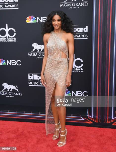 Recording artist Ciara attends the 2018 Billboard Music Awards at MGM Grand Garden Arena on May 20 2018 in Las Vegas Nevada