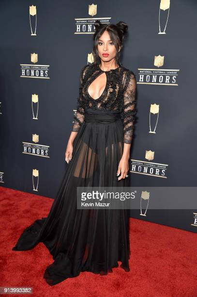 Recording Artist Ciara attends the NFL Honors at University of Minnesota on February 3 2018 in Minneapolis Minnesota