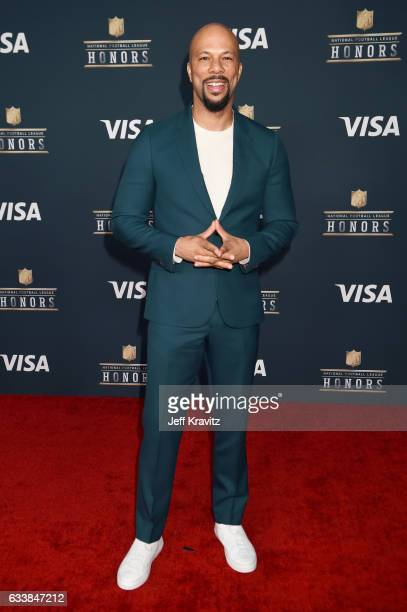 Recording artist Common attends 6th Annual NFL Honors at Wortham Theater Center on February 4 2017 in Houston Texas