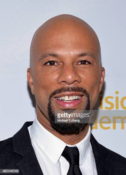 Recording artist Common attends An Evening With Norman Lear presented by the Television Academy at The Montalban on January 28 2015 in Hollywood...