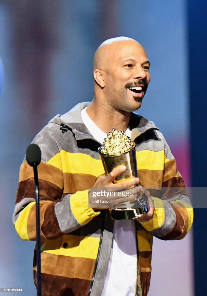 Recording artist Common attends the 2018 MTV Movie And TV Awards at Barker Hangar on June 16, 2018 in Santa Monica, California.