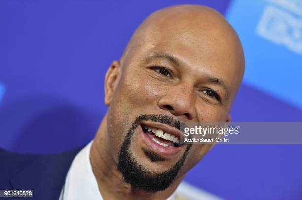 Recording artist Common attends the 29th Annual Palm Springs International Film Festival Awards Gala at Palm Springs Convention Center on January 2...