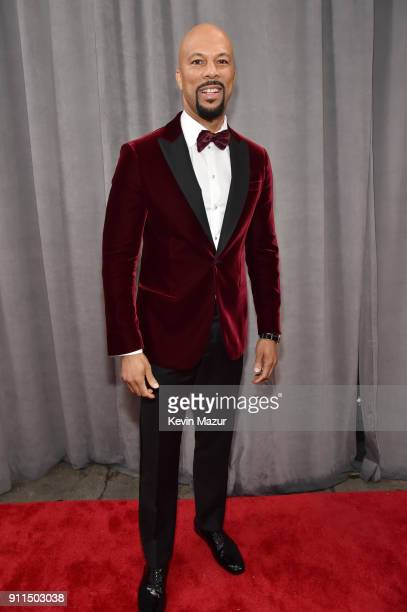 Recording artist Common attends the 60th Annual GRAMMY Awards at Madison Square Garden on January 28 2018 in New York City
