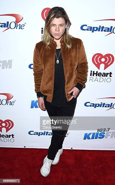 Recording artist Conrad Sewell attends 1027 KIIS FM's Jingle Ball 2015 Presented by Capital One at STAPLES CENTER on December 4 2015 in Los Angeles...