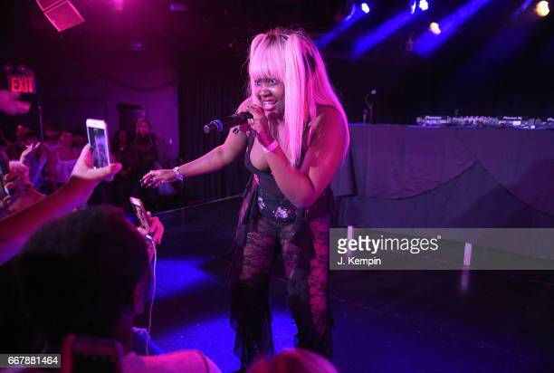 Recording artist Cupcakke performs at Le Poisson Rouge on April 12 2017 in New York City