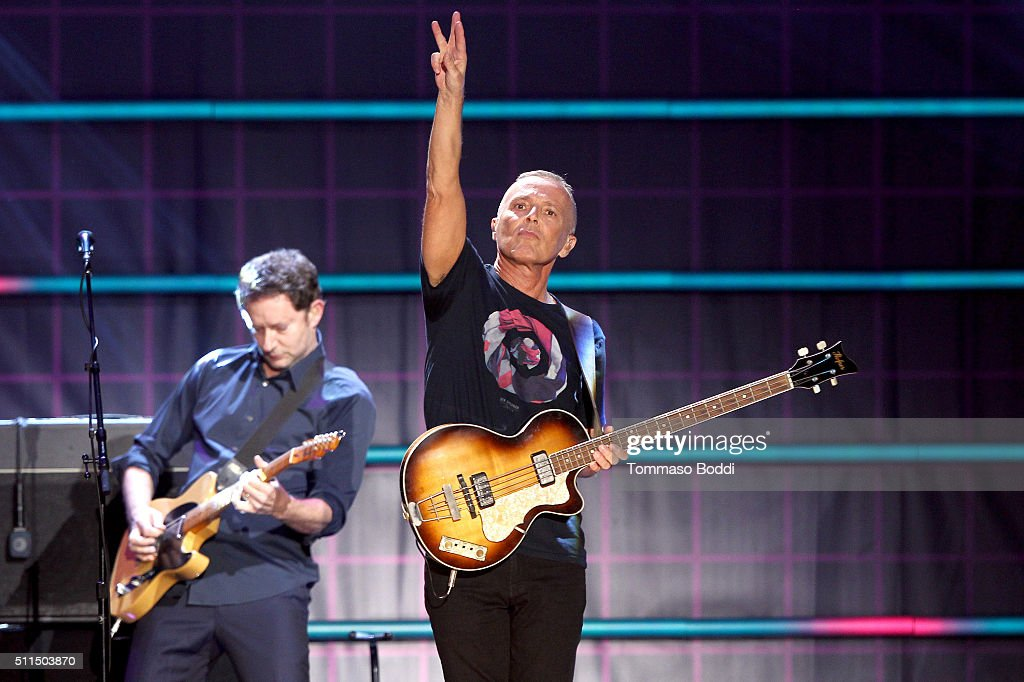 Recording artist Curt Smith of music group Tears for Fears performs on stage during the iHeart80s Party 2016 at The Forum on February 20, 2016 in Inglewood, California.