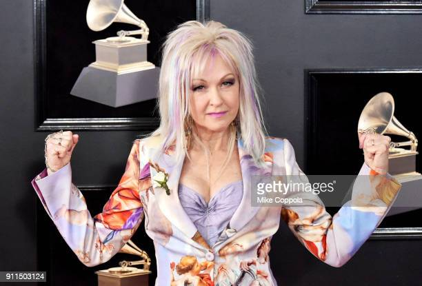 Recording artist Cyndi Lauper attends the 60th Annual GRAMMY Awards at Madison Square Garden on January 28, 2018 in New York City.