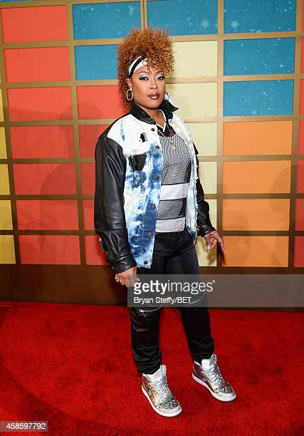 Recording artist Da Brat attends the 2014 Soul Train Music Awards at the Orleans Arena on November 7 2014 in Las Vegas Nevada