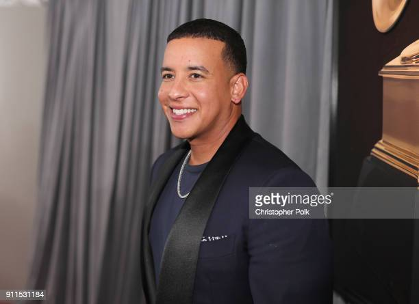 Recording artist Daddy Yankee attends the 60th Annual GRAMMY Awards at Madison Square Garden on January 28 2018 in New York City