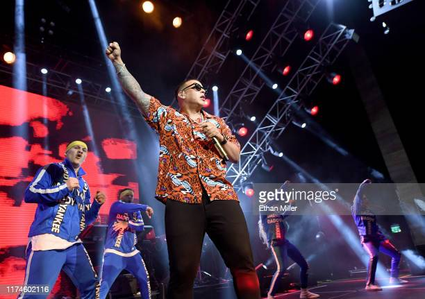 Recording artist Daddy Yankee performs at The Chelsea at The Cosmopolitan of Las Vegas on September 13 2019 in Las Vegas Nevada
