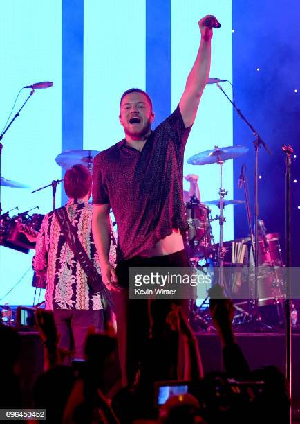 Recording artist Dan Reynolds of Imagine Dragons performs at Imagine Dragons Live presented by Citi and Live Nation exclusively for Citi cardmembers...