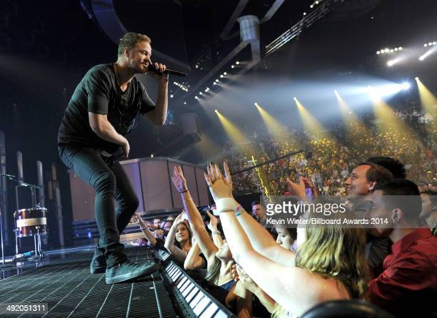 Recording artist Dan Reynolds of Imagine Dragons performs onstage during the 2014 Billboard Music Awards at the MGM Grand Garden Arena on May 18 2014...
