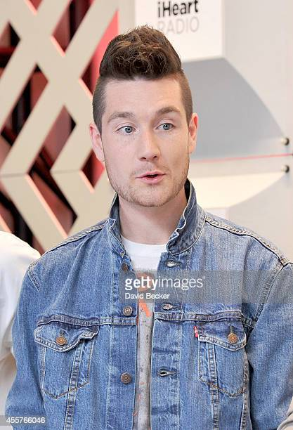 Recording artist Dan Smith of the band Bastille attends night 1 of the 2014 iHeartRadio Music Festival at MGM Grand Garden Arena on September 19 2014...