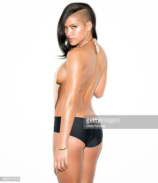 Recording artist dancer and actress Cassie is photographed for Esquire Magazine on January 28 2013 in Los Angeles California PUBLISHED IMAGE