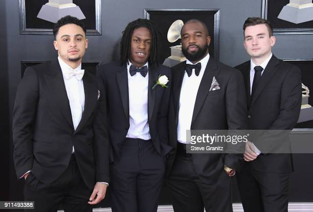 Recording artist Daniel Caesar and guests attend the 60th Annual GRAMMY Awards at Madison Square Garden on January 28 2018 in New York City