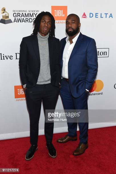 Recording artist Daniel Caesar attends the Clive Davis and Recording Academy PreGRAMMY Gala and GRAMMY Salute to Industry Icons Honoring JayZ on...