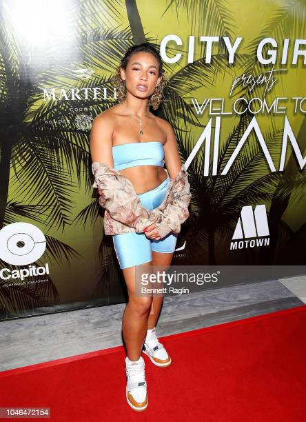 Recording artist DaniLeigh attends the kick off party of the BET Hip Hop Awards on October 5 2018 in Miami Florida