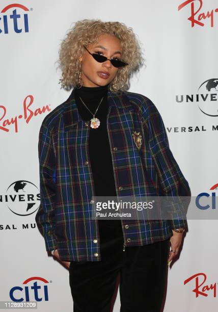Recording Artist DaniLeigh attends the Universal Music Group's 2019 after party to celebrate The GRAMMYs at ROW DTLA on February 10 2019 in Los...