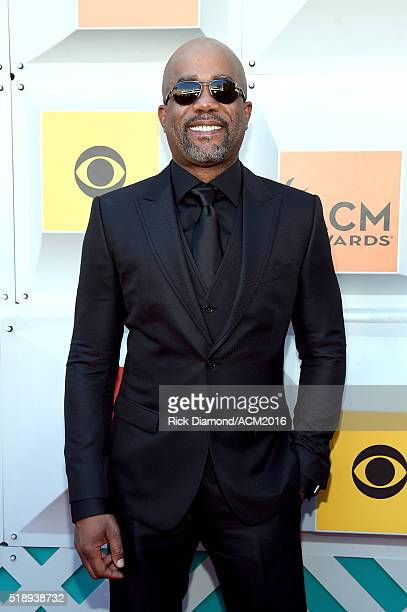 Recording artist Darius Rucker attends the 51st Academy of Country Music Awards at MGM Grand Garden Arena on April 3 2016 in Las Vegas Nevada