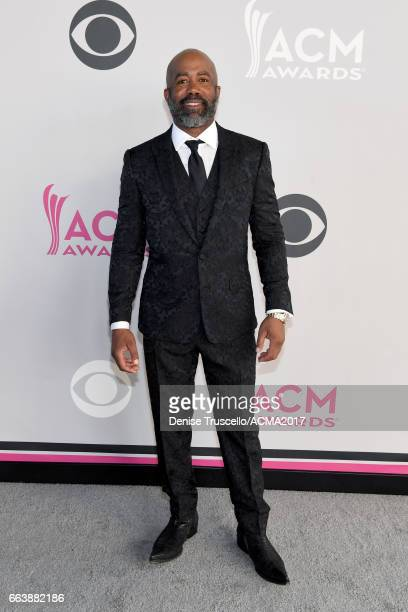 Recording artist Darius Rucker attends the 52nd Academy of Country Music Awards at Toshiba Plaza on April 2 2017 in Las Vegas Nevada