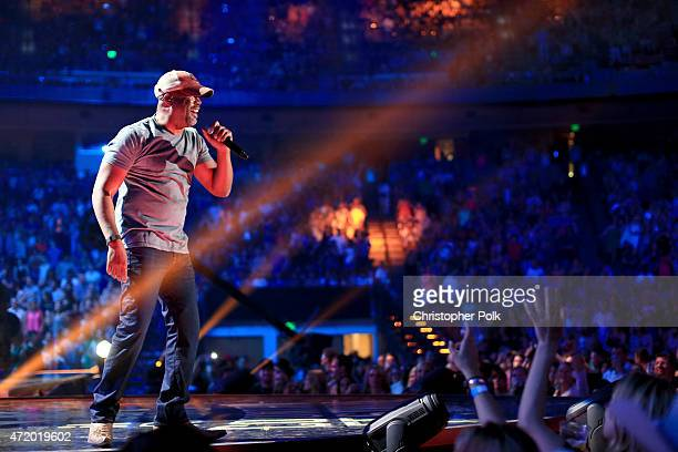 Recording artist Darius Rucker performs onstage during the 2015 iHeartRadio Country Festival at The Frank Erwin Center on May 2 2015 in Austin Texas...