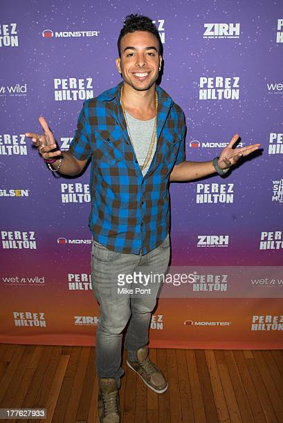 Recording Artist Dash attends Perez Hilton's One Night In Brooklyn at Music Hall of Williamsburg on August 24 2013 in New York City