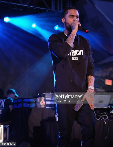 Recording artist Dave East performs onstage at the Mass Appeal music showcase during 2017 SXSW Conference and Festivals at Stubbs on March 16 2017 in...