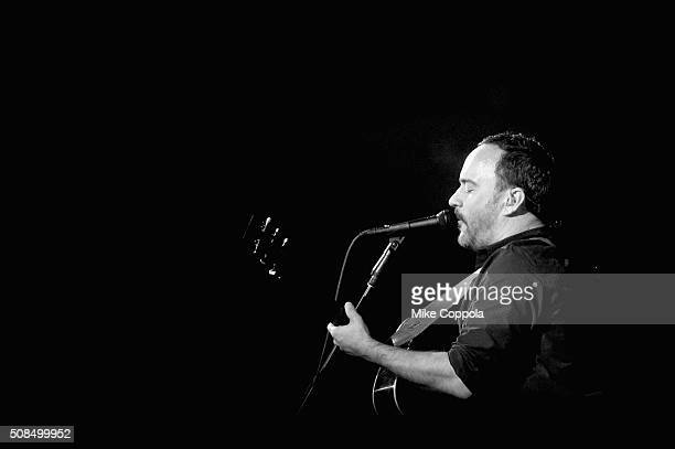 Recording artist Dave Matthews of Dave Matthews Band performs onstage during the DirecTV and Pepsi Super Thursday Night featuring Dave Matthews Band...