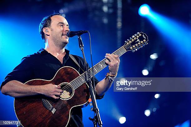 Recording artist Dave Matthews of the Dave Matthews Band performs in concert at Citi Field on July 16 2010 in New York City