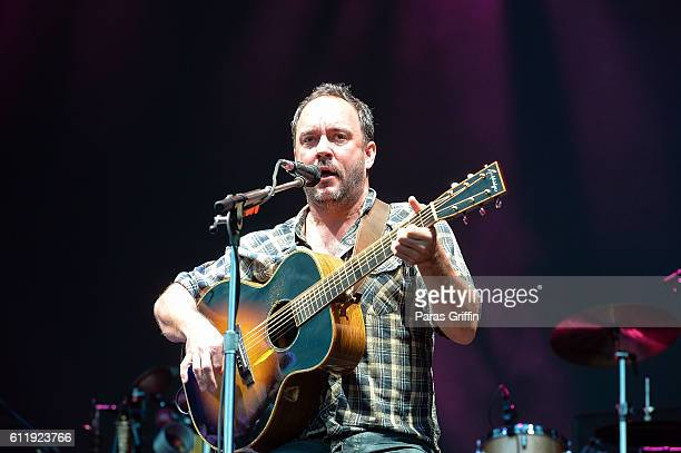 Recording artist Dave Matthews performs onstage at 2016 Many Rivers to Cross Festival at Bouckaert Farm on October 1 2016 in Fairburn Georgia