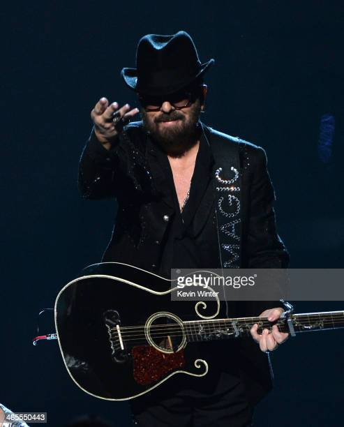 Recording artist Dave Stewart of Eurythmics performs onstage during The Night That Changed America A GRAMMY Salute To The Beatles at the Los Angeles...