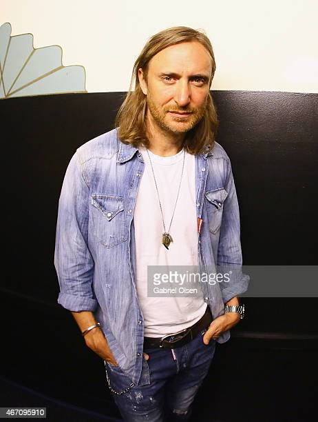 Recording artist David Guetta attends 971 AMP Radio Presents AMPLIFY 2015 at the Hollywood Palladium on March 20 2015 in Los Angeles California